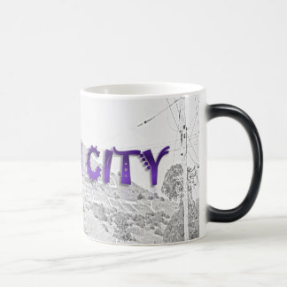 South City - The Mountain Background Sketch Magic Mug