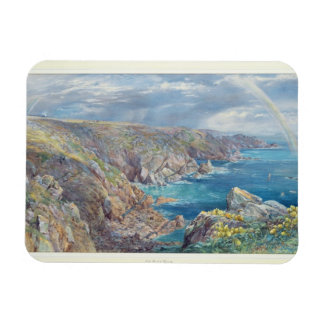 South Coast of Guernsey from the Cribiere, 1862 (w Rectangular Photo Magnet
