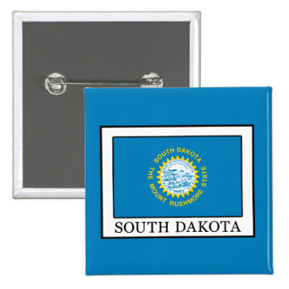 South Dakota 15 Cm Square Badge