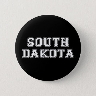 South Dakota 6 Cm Round Badge
