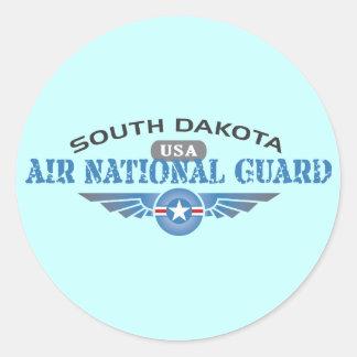 South Dakota Air National Guard Round Sticker