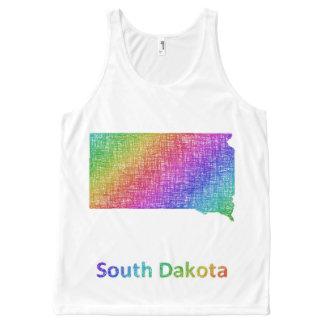 South Dakota All-Over Print Tank Top