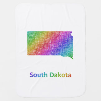 South Dakota Baby Blanket
