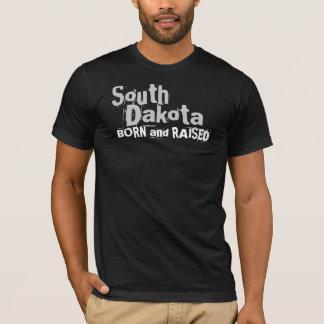 South Dakota BORN and RAISED T-Shirt