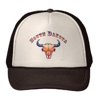 South Dakota Buffalo Skull Cap