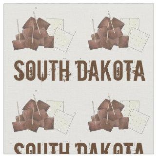 South Dakota Chislic Cubed Meat Crackers SD Foodie Fabric