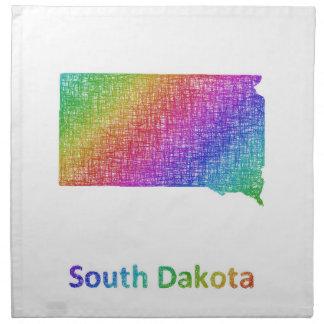 South Dakota Cloth Napkin