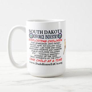 South Dakota Divorce Industry. Classic White Coffee Mug