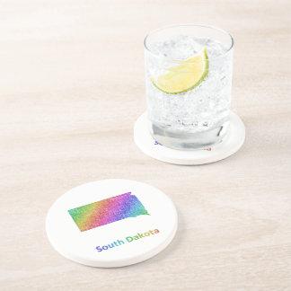 South Dakota Drink Coaster