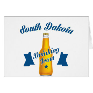 South Dakota Drinking team Card