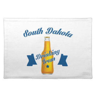 South Dakota Drinking team Placemat