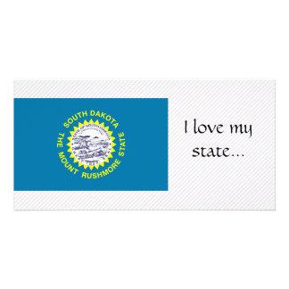 South Dakota Flag Photo Card