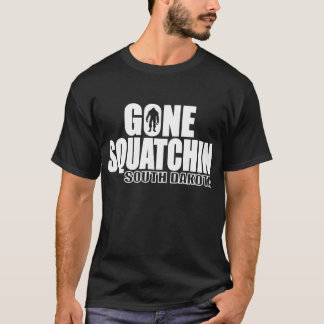 SOUTH DAKOTA Gone Squatchin - Original Bobo T-Shirt