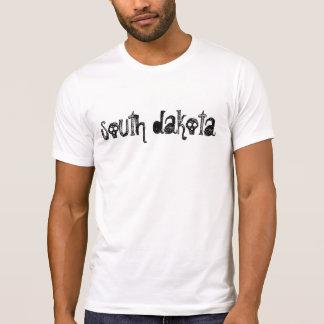 South Dakota Goth Skull Gothic Gift Light T-shirt
