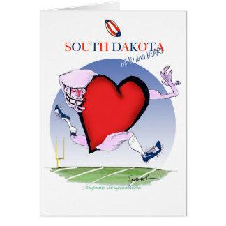 south dakota head heart, tony fernandes card