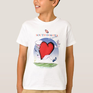 south dakota head heart, tony fernandes T-Shirt