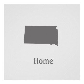 South Dakota Home Poster