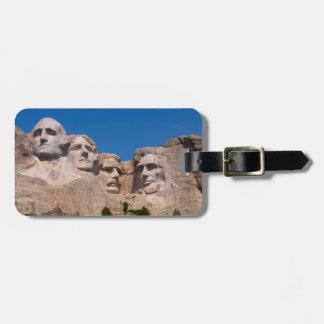 South Dakota, Keystone, Mount Rushmore Travel Bag Tags