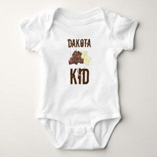 South Dakota Kid Chislic Cubed Meat Crackers Food Baby Bodysuit