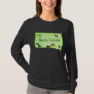 South Dakota Ladies Long Sleeve Shirt