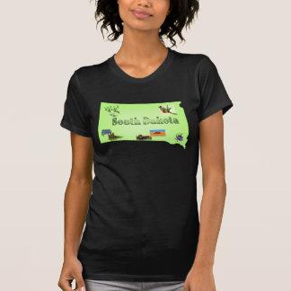 South Dakota Ladies Petite T-Shirt
