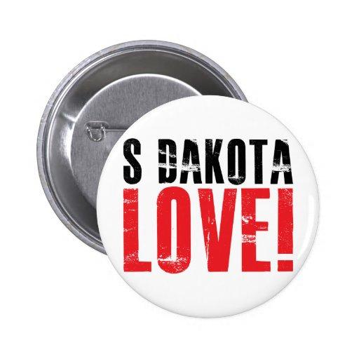 South Dakota Love Button