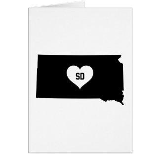 South Dakota Love Card
