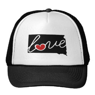 South Dakota Love!  Gifts for SD Lovers Cap