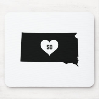 South Dakota Love Mouse Pad