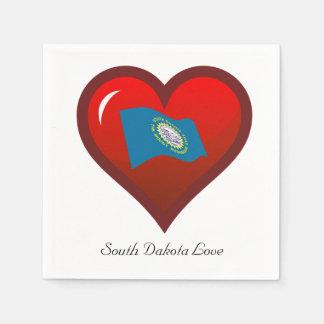 South Dakota Love Disposable Napkins