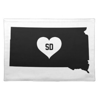 South Dakota Love Placemat