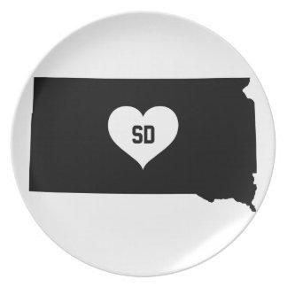 South Dakota Love Plate