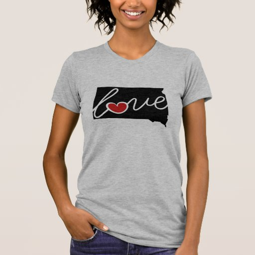 South Dakota Love!  Shirts & More for SD Lovers