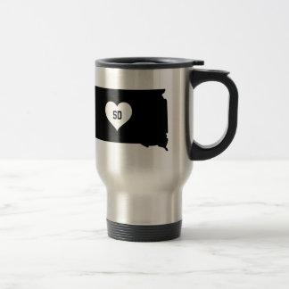 South Dakota Love Travel Mug