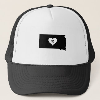 South Dakota Love Trucker Hat