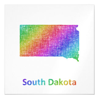 South Dakota Magnetic Invitations