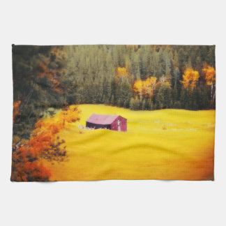South Dakota Meadow Kitchen Towel Western Barn