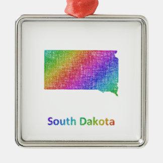 South Dakota Metal Ornament
