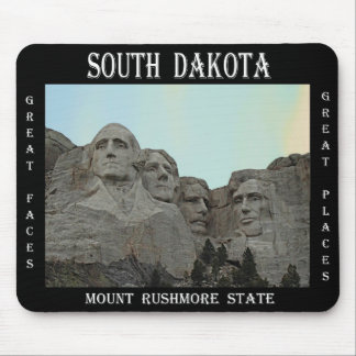 South Dakota Mount Rushmore State Mouse Pad