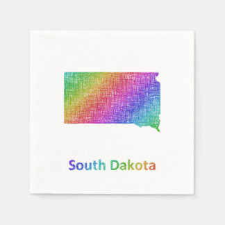 South Dakota Paper Napkin