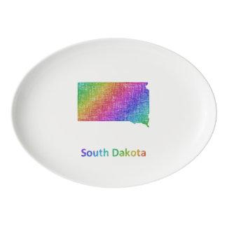South Dakota Porcelain Serving Platter