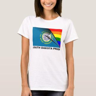 South Dakota Pride LGBT Rainbow Flag T-Shirt