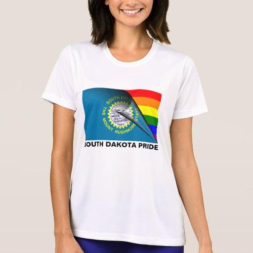 South Dakota Pride LGBT Rainbow Flag Tshirt