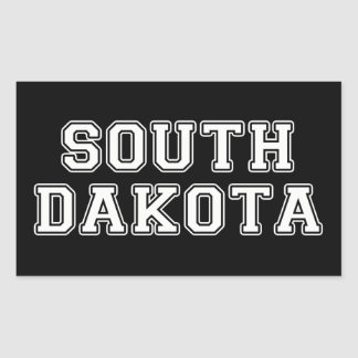 South Dakota Rectangular Sticker