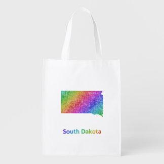 South Dakota Reusable Grocery Bag