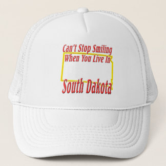 South Dakota - Smiling Trucker Hat