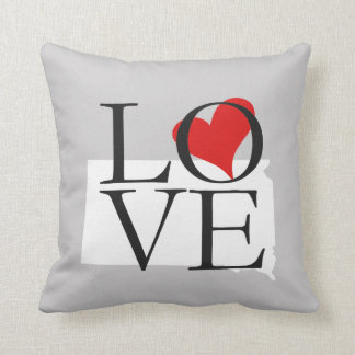 South Dakota State Love Pillow