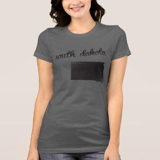 South Dakota State on Ladies T-Shirt