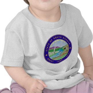 South Dakota State Seal T Shirts