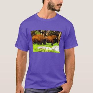 South Dakota t shirt with Bison